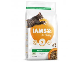 IAMS for Vitality Adult Cat Food with Lamb-2kg