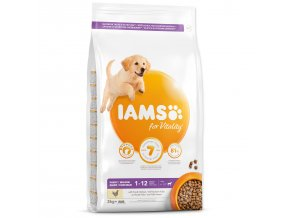 IAMS Dog Puppy Large Chicken-3kg