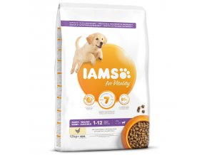 IAMS Dog Puppy Large Chicken-12kg