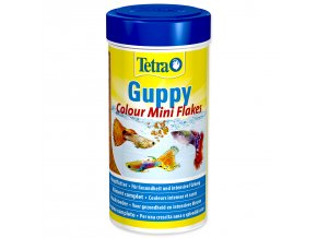 Tetra Guppy Colour Mini Flakes-100ml