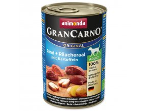 Konzerva ANIMONDA Gran Carno úhoř + brambory karton-400g
