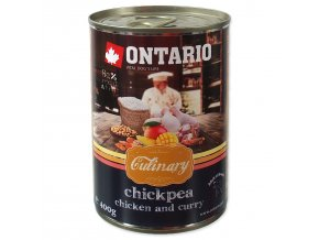 Konzerva ONTARIO Culinary Chickpea, Chicken and Curry-400g