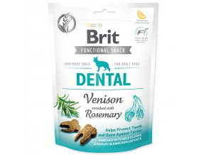 BRIT Care Dog Functional Snack Dental Venison-150g