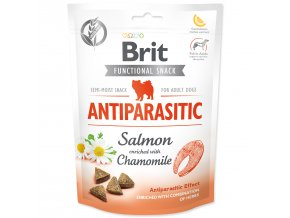 BRIT Care Dog Functional Snack Antiparasitic Salmon-150g