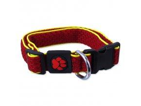 Obojek ACTIV DOG Mellow červený M-1ks
