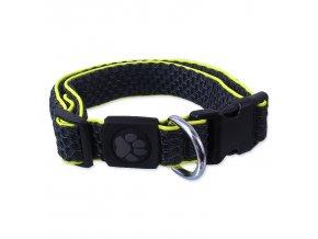 Obojek ACTIV DOG Mellow šedý M-1ks