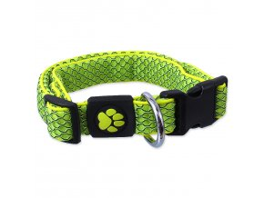 Obojek ACTIVE DOG Mellow limetka L-1ks