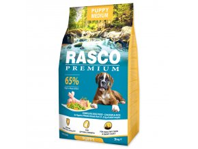 RASCO Premium Puppy / Junior Medium-3kg