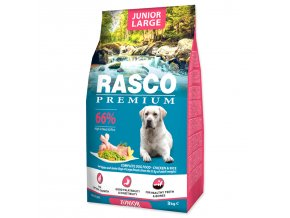 RASCO Premium Puppy / Junior Large-3kg
