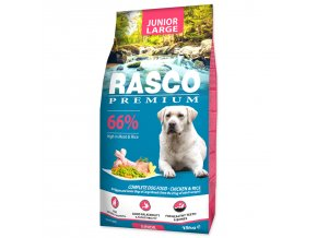 RASCO Premium Puppy / Junior Large-15kg
