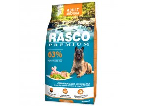 RASCO Premium Adult Medium-15kg