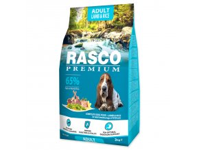 RASCO Premium Adult Lamb & Rice-3kg