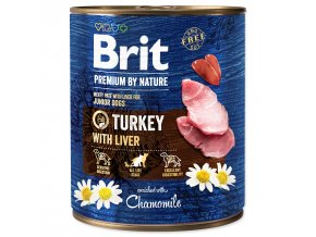 BRIT Premium by Nature Turkey with Liver-800g