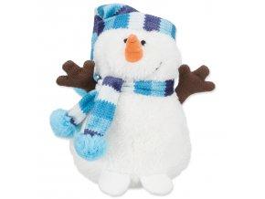 Hračka TRIXIE sněhulák plyšový 17 cm-1ks