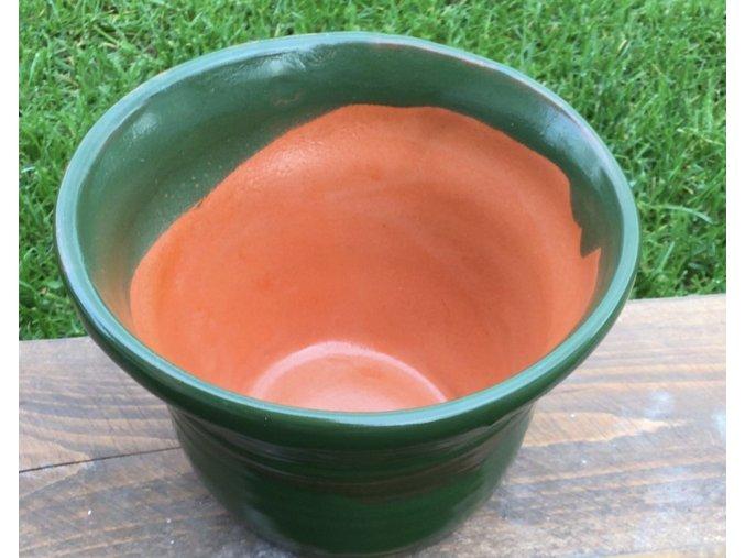 Miska zeleno-pomarančová