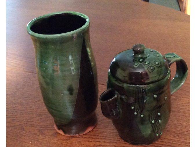 váza a krčah