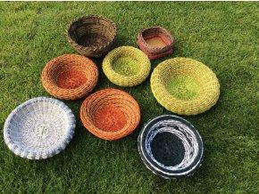 set košíkov z Malého Raja
