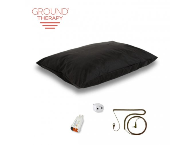 Ground Therapy Pillow Cover Kit Black Cord