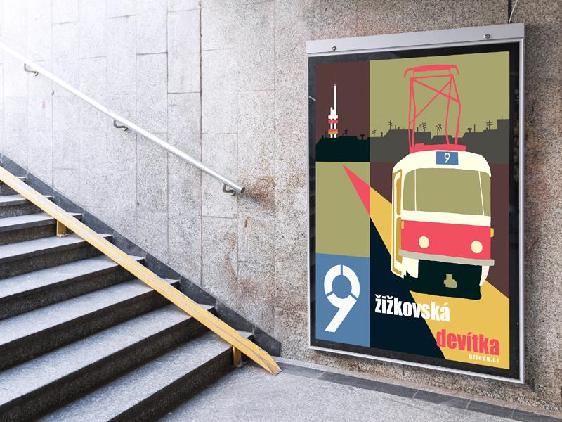 Plakát Žižkovská devítka
