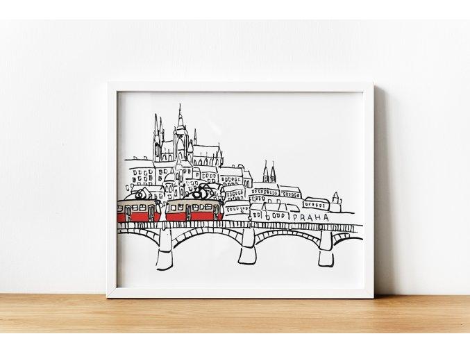 Mock up Praha Hradčany WEB