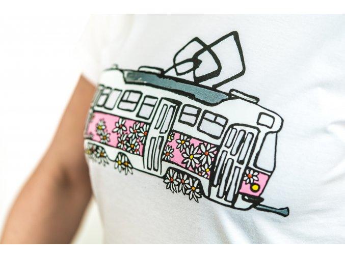 Pink dámské C001 bílé