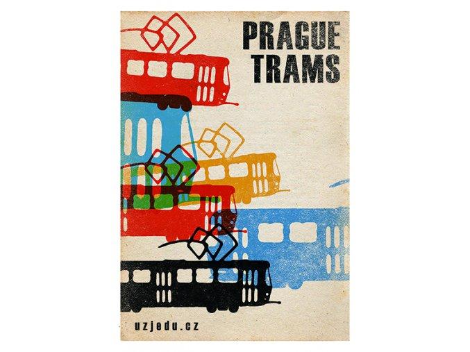 PRAGUE TRAMS Plakat (v2) WEB