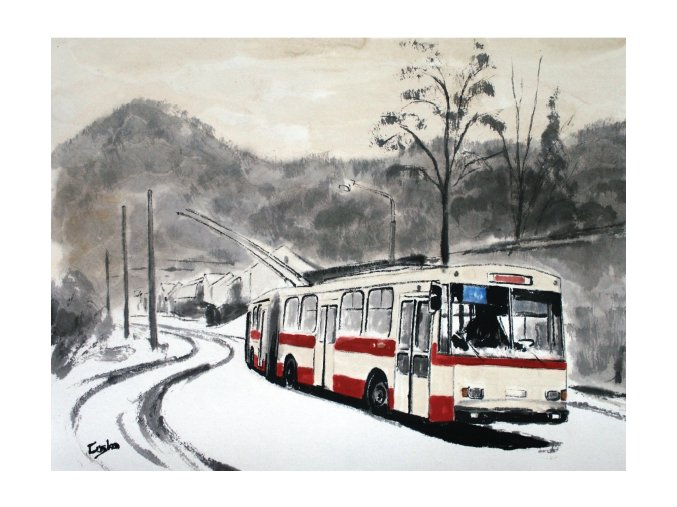 Trolejbus Ústí LQ