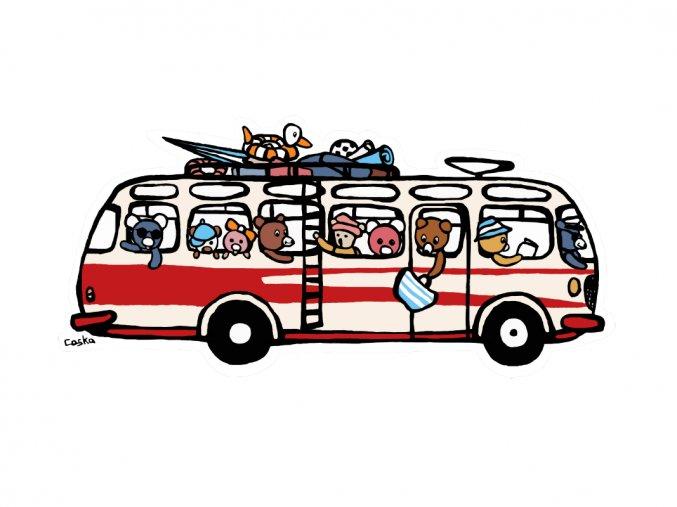 RTO autobus ze zvířátky LQ
