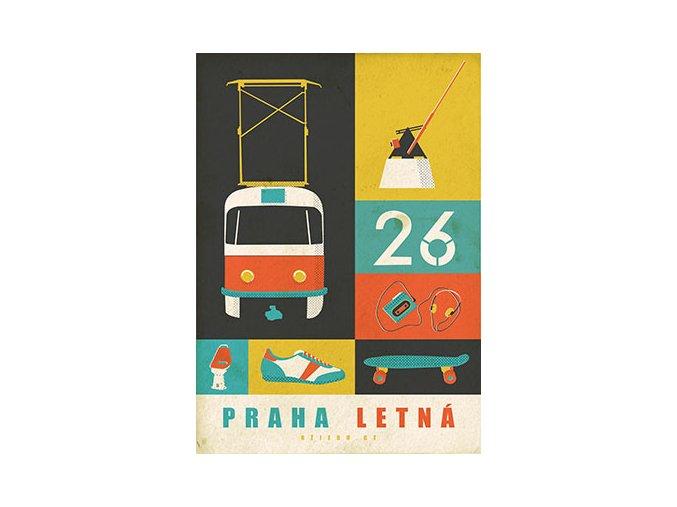 Plakat Letna 26 LQ