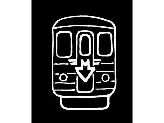 Svítící metro náhled