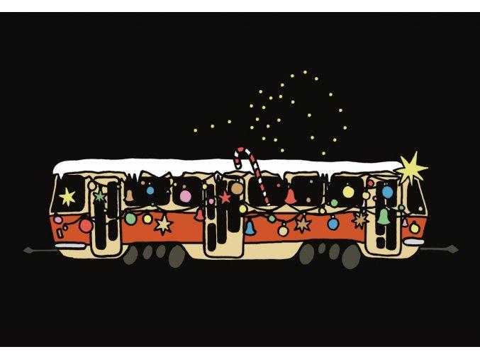 Vánoční T3 pohlednice