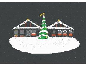 Vánoční vozovna nebe na web