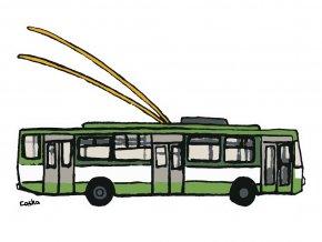 Tričko s trolejbusem (Plzeň)