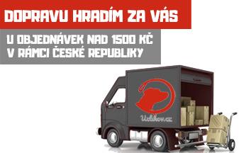 Všechny objednávky HARVEY vodítek a objednávky nad 1500 Kč mají automaticky dopravu zdarma!