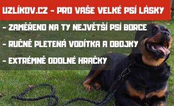 Uzlíkov.cz - pro vaše velké psí lásky