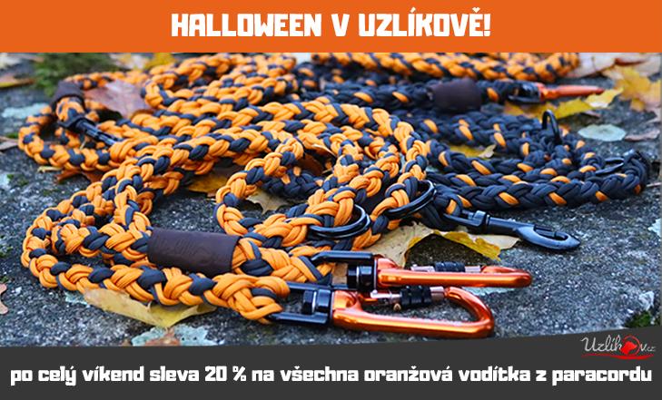 Halloweenské slevy na oranžovou!