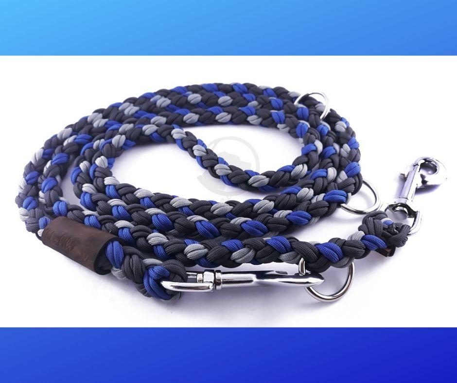 voditko-paracord-prepinaci-220cm-xl-modra