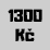 1300 Kč