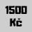 1500 Kč