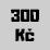 300 Kč