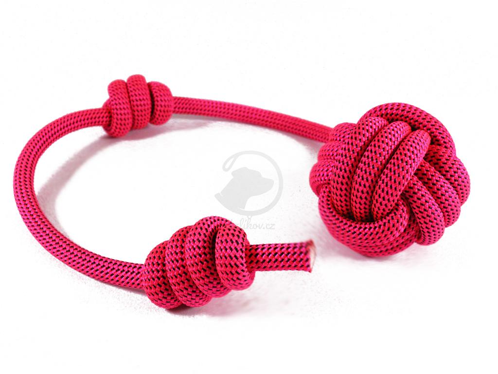 Lanová hračka APORT velká růžová  délka cca 50 cm