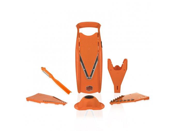 V5 plus orange mirrored