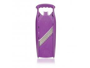Welle Waffel violet mirrored