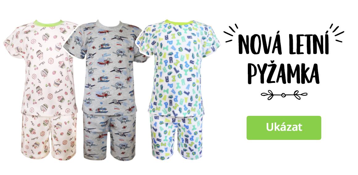Nová letní pyžamka pro děti