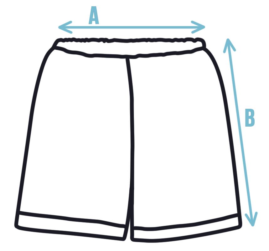 Velikosti dětských šortek