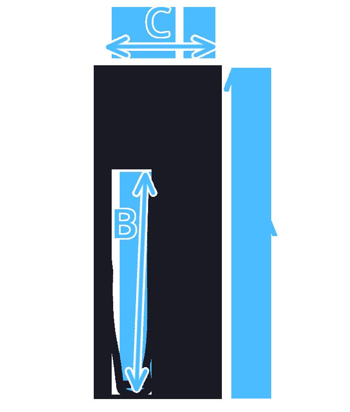 Velikostní tabulka - dětské legíny