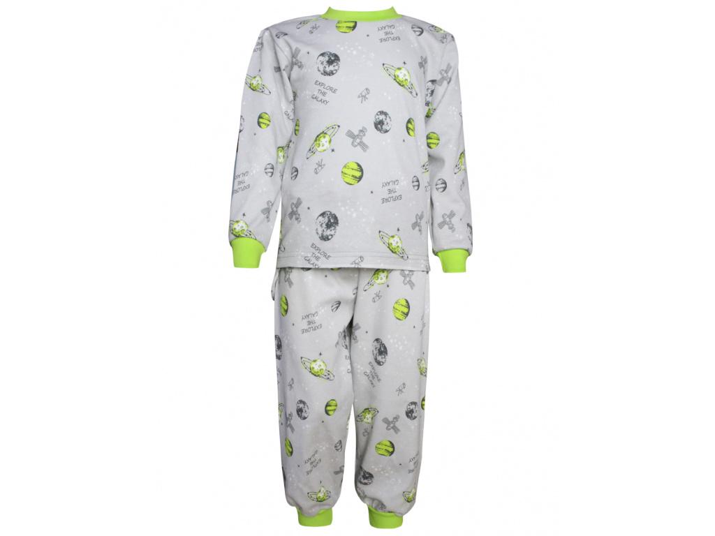 Dětské pyžamo vesmír