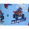 Dětské letní pyžamo s motorkami detail latky