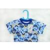 Dětské letní pyžamo bagry instagram1