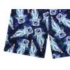 Dětské šortky kosmonauti detail nohavice